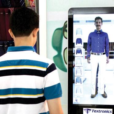 virtual mirror virtual dressing room app in mumbai india. Black Bedroom Furniture Sets. Home Design Ideas
